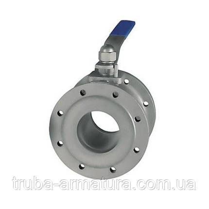 Кран кульовий сталевий фланцевий, Ду 50 / куля-нж сталь 304 / PTFE / PN25, фото 2