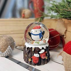 Водяной снежный шар Пингвин (бол.)