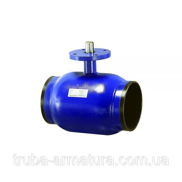 Кран шаровый приварной стальной неполнопроходной, Ду 80 / шар-нж сталь 304 / PTFE / PN40