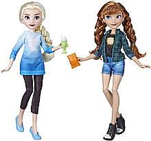 Набор кукол Принцессы Диснея Эльза и Анна.