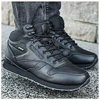 Мужские зимние ботинки Reebok Classic High, мужские зимние ботинки рибок чоловічі зимові черевики Reebok рібок