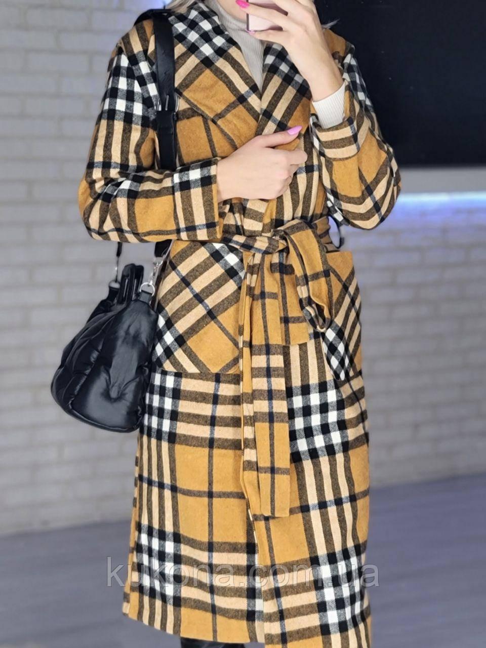 Пальто  кашемировое женское. Размер: 42-46.
