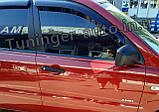 Ветровики, дефлекторы окон Kia Sportage 2004-2010 (Autoclover), фото 6