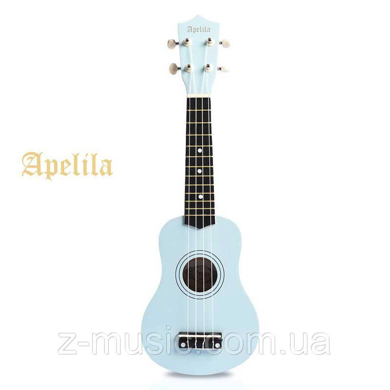Укулеле сопрано Apelila BL (голубой)