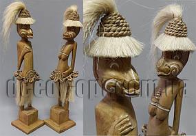 Пара коричневых папуасов 50см