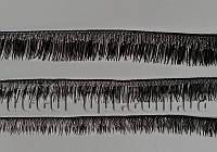 Реснички куклы черные 4,5,6,8 мм/19см код 16
