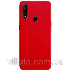 Силиконовый чехол Candy для Oppo A31 / A8 Красный