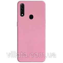 Силиконовый чехол Candy для Oppo A31 / A8 Розовый