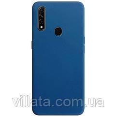 Силиконовый чехол Candy для Oppo A31 / A8 Синий