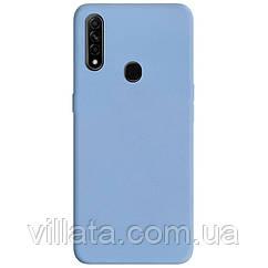 Силиконовый чехол Candy для Oppo A31 / A8 Голубой / Lilac Blue
