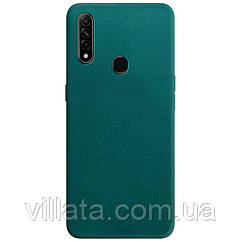 Силиконовый чехол Candy для Oppo A31 / A8 Зеленый / Forest green