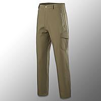 """Штаны Soft Shell утепленные """"Esdy. 190"""" (олива) тактические, брюки нацгвардии, ВСУ, теплые, карго"""
