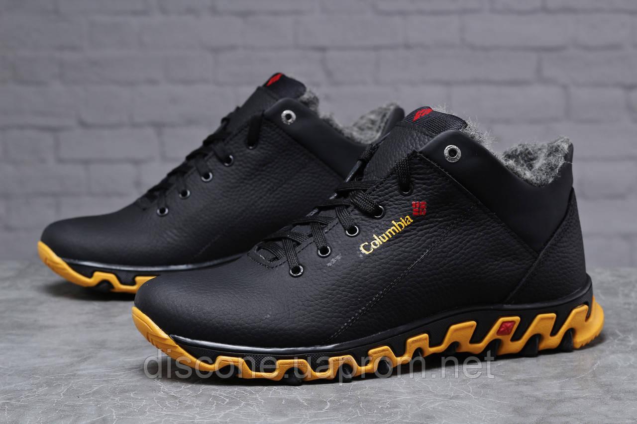 Зимние мужские ботинки 31811 ► Columbia Track II, черные ✅Скидка 27% [ 43 ] ► (40-27,0см)