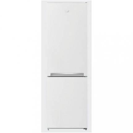 Холодильник з нижньою морозилкою Beko RCSA270K20W, фото 2