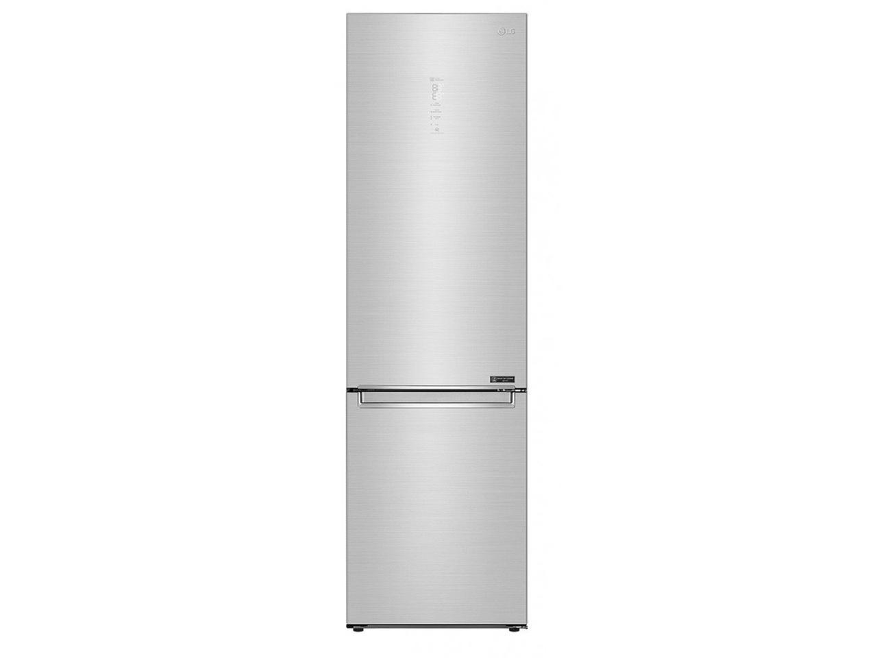 Холодильник з нижньою морозилкою LG GW-B509PSAX