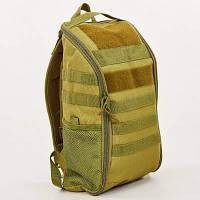 Рюкзак тактический штурмовой SILVER KNIGHT 15 литров TY-608 (нейлон, оксфорд 900D, размер 42x23x13см, хаки)