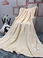 Однотонное стильное покрывало из микрофибры 200*230 см, евро размер
