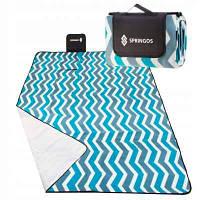 Коврик для пикника и кемпинга складной Springos 200 x 160 см PM005
