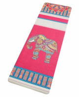 "9290211 Коврик для Йоги ""Слон на розовом"""