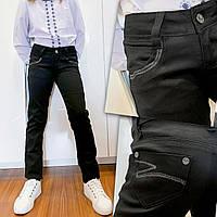Чорні шкільні брюки для дівчинки Lafeidina Jeans 719. Розмір 23 (на 8-9 років, є заміри), фото 1