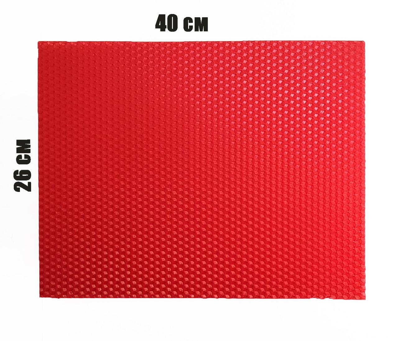 Цветная вощина 100% воск 26х41см