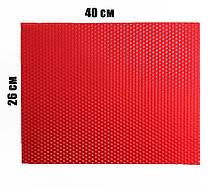 Кольорова вощина 100% віск 26х41см