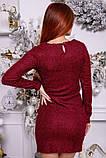 Платье женское 115R351B цвет Бордовый, фото 4