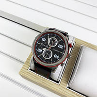Наручний годинник Guardo 011097-1 Black-Silver-Red