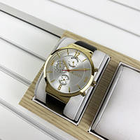 Наручний годинник Guardo B01312-4 Dark Brown-Gold-White