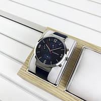 Наручний годинник Guardo B01312-3 Blue-Silver