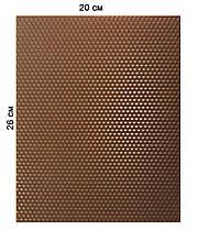 Кольорова вощина 100% еко - віск 20х26см Коричневий