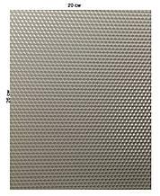 Кольорова вощина 100% еко - віск 20х26см Сірий