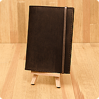 Кожаная обложка на паспорт Орех