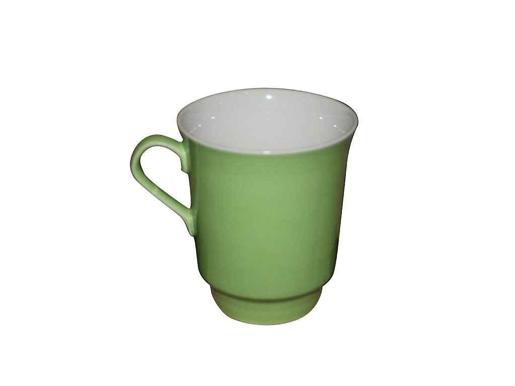 Чашка керамическая Авангард Водолей салатовая 700 мл
