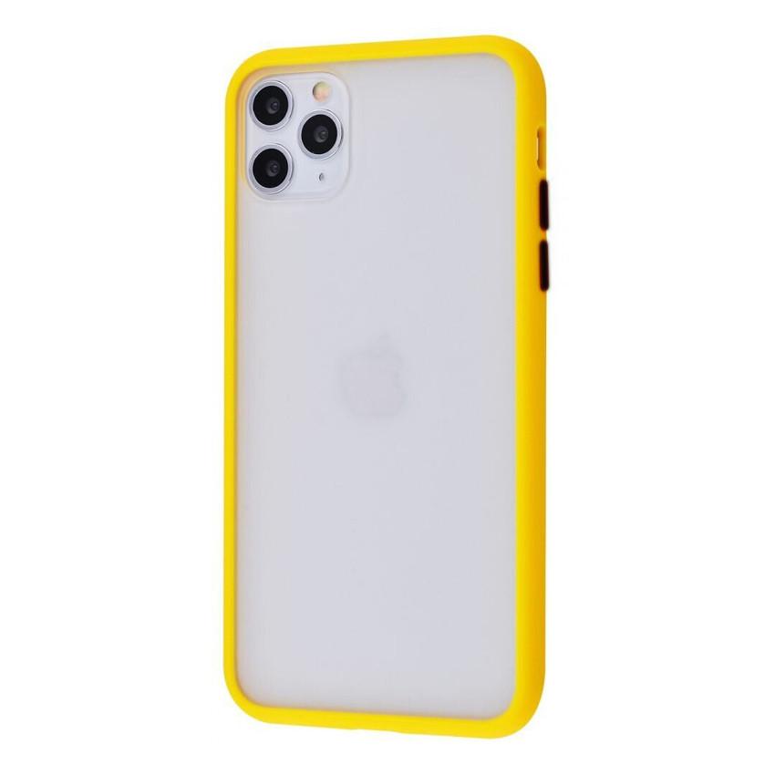 Чехол накладка Goospery Case для iPhone 11  Pro  Max Yellow