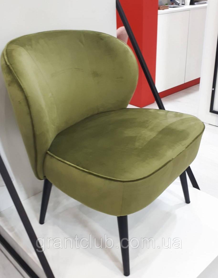 Крісло Фабіо зелений чай Vetro Mebel (безкоштовна доставка)
