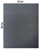 Цветная вощина еко - воск 20х26см Черный