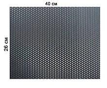Кольорова вощина 100% віск 26х41см Чорний