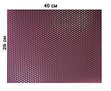 Цветная вощина 100% воск 26х41см Темно-фиалетовый