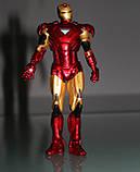 Фигурка Marvel Железный Человек со съемной маской, 17см - Iron Man Mark VI, фото 4