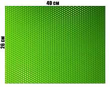 Кольорова вощина 100% віск 26х41см Салатовий