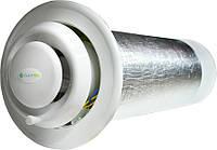 Рекуператор CLIMTEC РД 100 (База) 40 м3/ч 7 Вт 15 м2 Механическое управление КПД по сохранению тепла 89 %