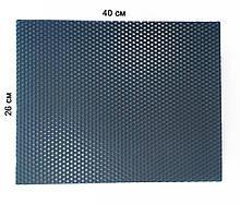 Кольорова вощина 100% віск 26х41см Темно-синій
