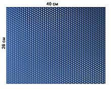 Цветная вощина 100% воск 26х41см Синий