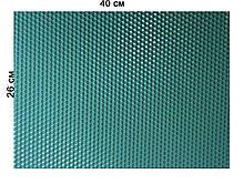 Кольорова вощина 100% віск 26х41см Блакитний