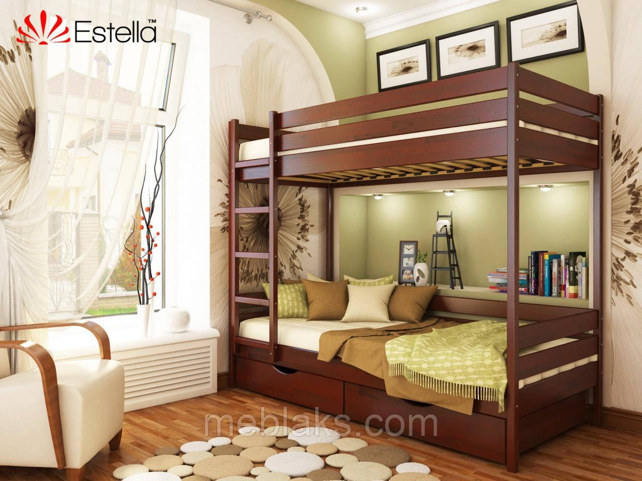 Двухъярусная кровать Дует 90х200 104 Щит 2Л25