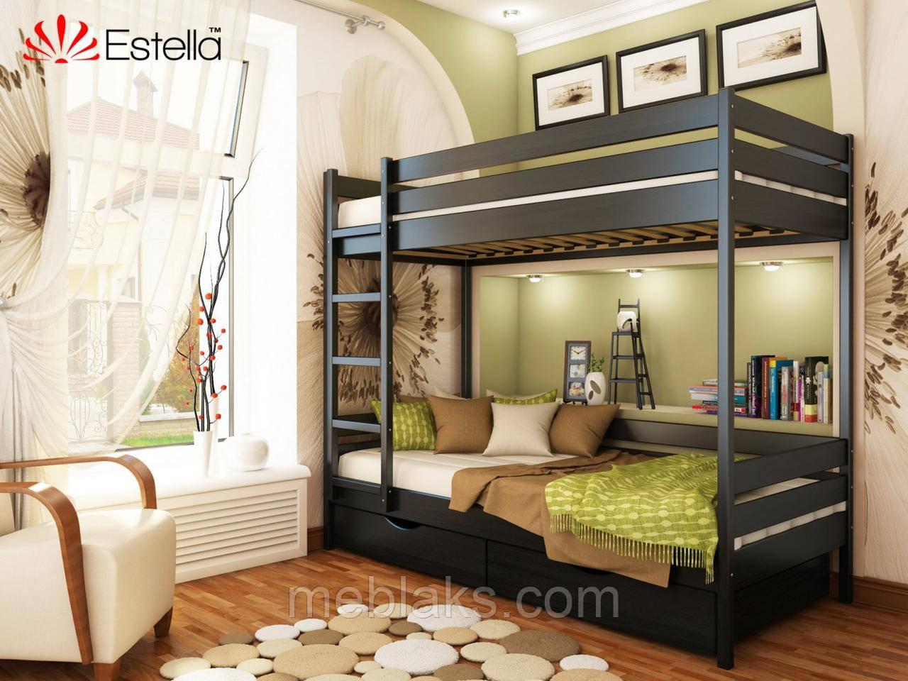 Двухъярусная кровать Дует 90х200 106 Масив 2Л4