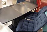 Стол TMM-50-2 черный 110/150 (бесплатная доставка), фото 4