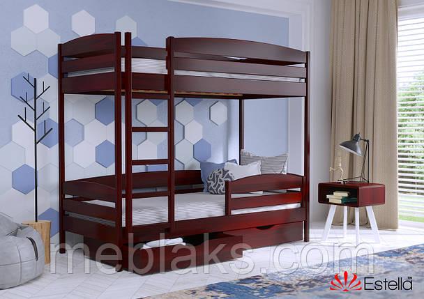 Двухъярусная кровать Дует Плюс 80х190 104 Масив 2Л25, фото 2