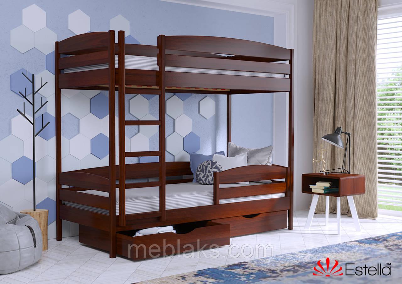 Двухъярусная кровать Дует Плюс 80х190 108 Масив 2Л25